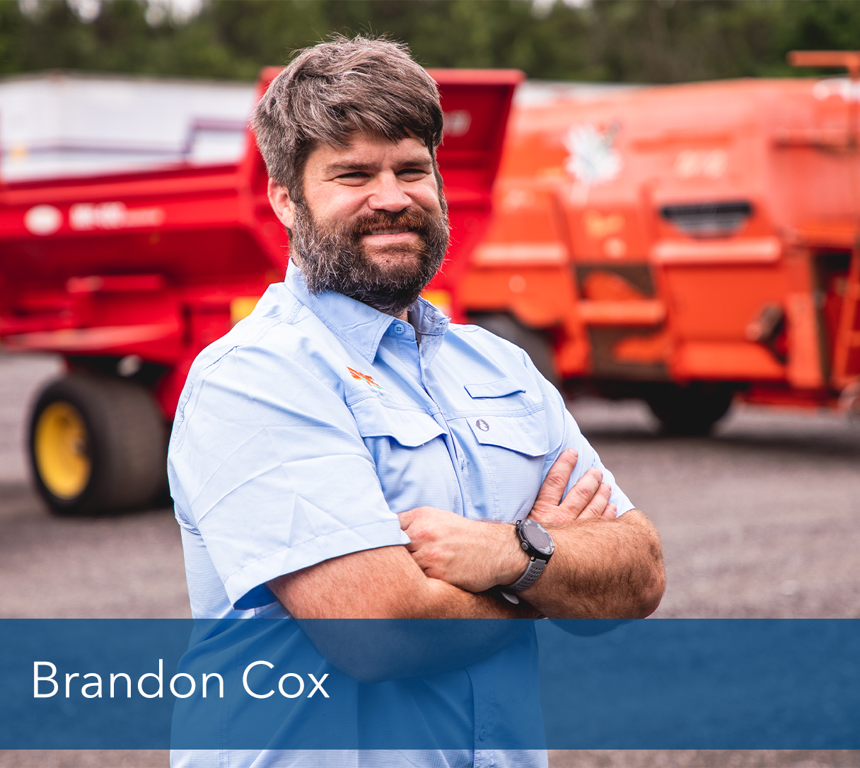 <b>Bandon Cox</b>, Operations Manager <br><p></p>