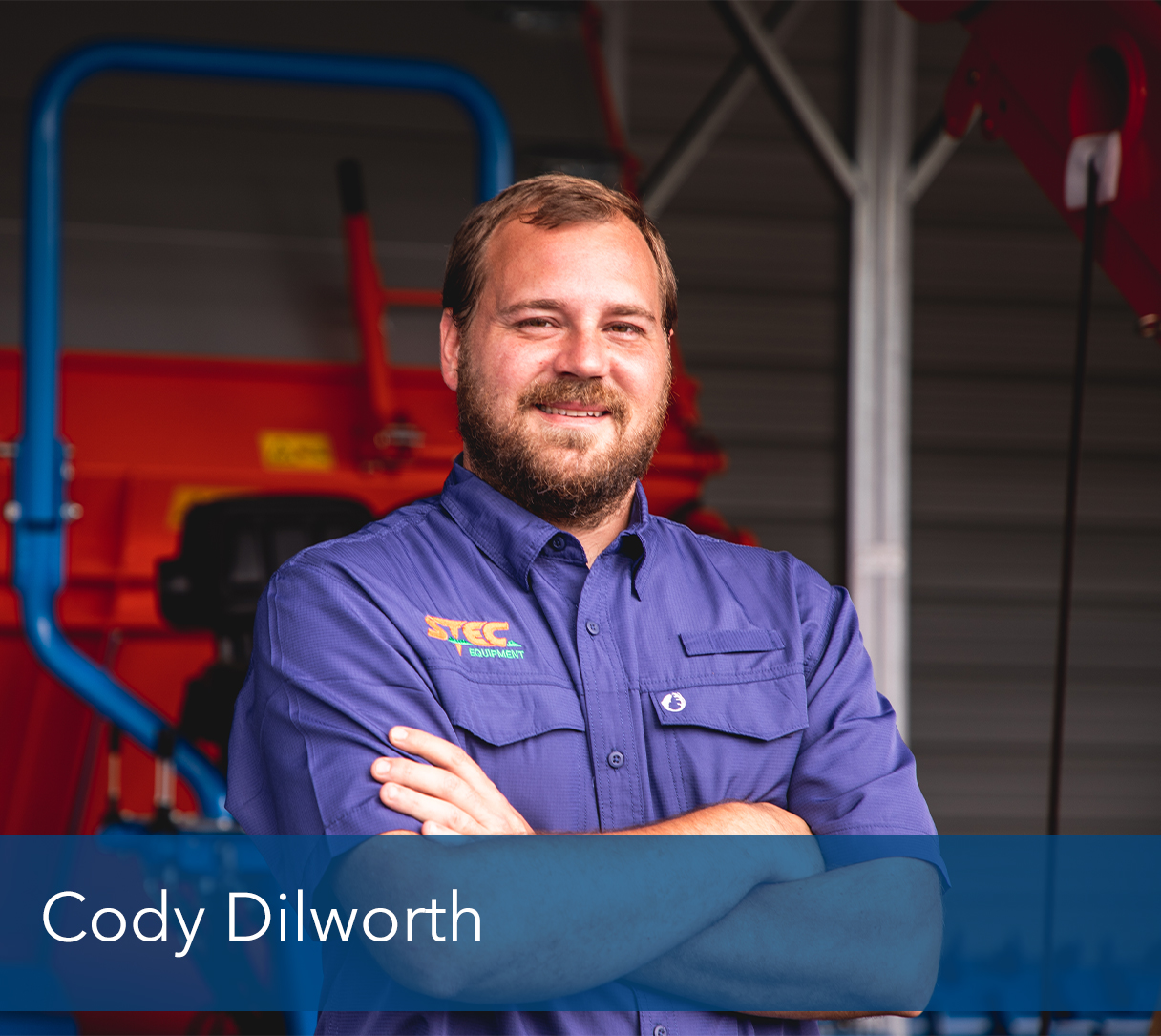 "<b>Cody Dilworth</b>, Inside Sales Manager <br><p></p>      Cody sells equipment to the walk in customer, or via email or phone.  <p></p>       Prior to sales, He was in parts for 15 years and started sales 3 years ago. He has been with STEC for 7 years.<p></p>       In his spare time he loves spending time with family, also when he has time; fishing and metal detecting. <p></p>      ""His family inspires him, ""I drive myself to be a better man and role model because of them."" ""Accept responsibility for your life. Know that it is you who will get you where you want to go, no one else can that for you."" <br>-Les Brown<p></p>       He gets great gratification knowing that has a small roll in getting some of the most prestigious playing fields and courses in history ready for play."