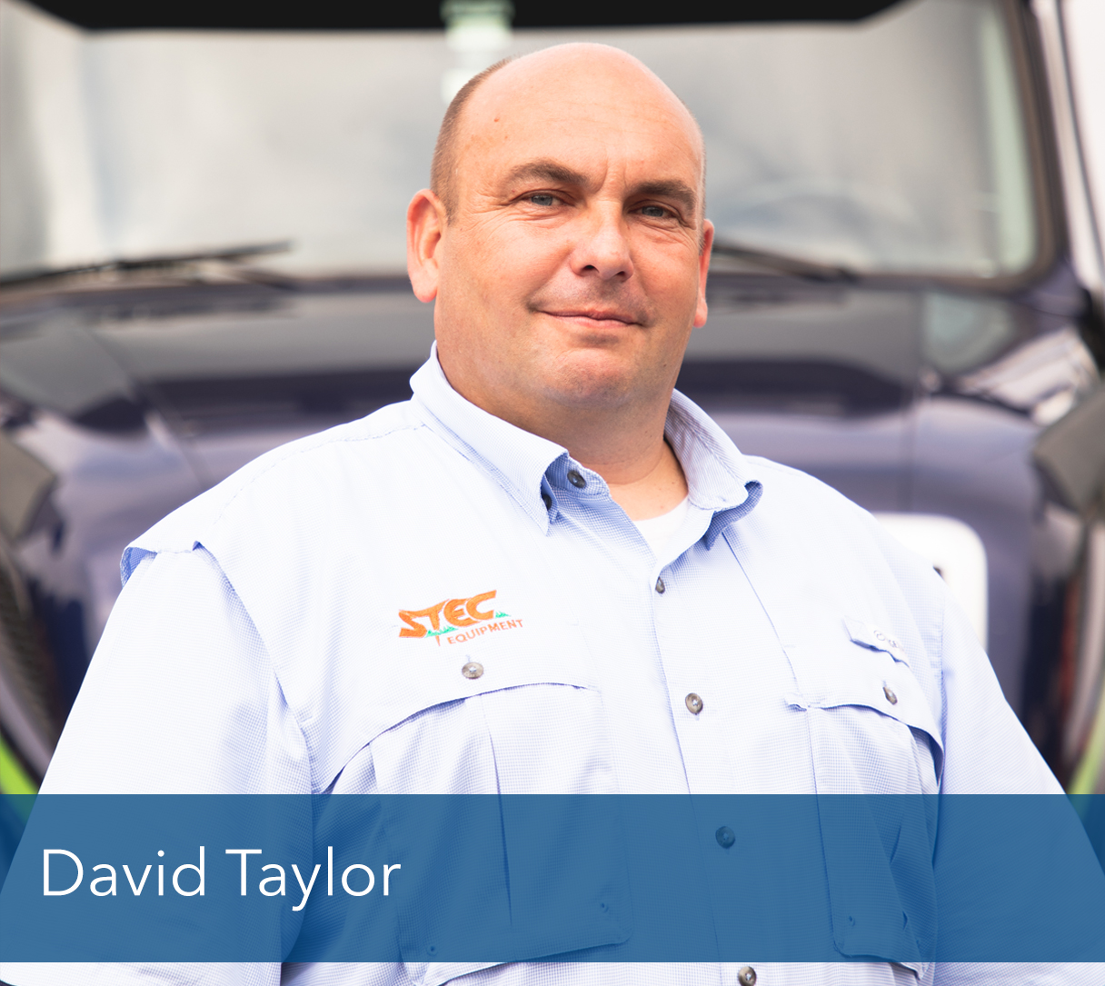 "<b>David Taylor</b>, Owner & President of STEC Equipment<br><p></p>     One of the true benefits of being the owner of an independent company is the ability to have my hands in all aspects of the business. I am never bored as there is always a new project or opportunity to better our business and as a result the experience and service that our customers receive. <p></p>                                       Growing up on a nursery in England definitely influenced and guided the path to where I am today. I was on a piece of equipment around the nursery from an early age and even to this day I am selling, developing & using cutting edge turf grass equipment.  I started out working as a demonstrator for New Holland Agriculture and then was hired by BLEC Landscaping Equipment. It was through my job at BLEC that I came to America in 2002. 6 years later I was able to create and establish STEC and we have been expanding and growing ever since. On a personal note I can say with great pride that I was able to become a US Citizen in 2018.<p></p>                                       I have also created a great life here outside of STEC while I have been here. I have been married to Robyn since 2006. I also have 2 great kids, Allie & Will, who keep us busy with all of their extracurricular activities. I enjoy working on and around equipment and spend a lot of my spare time using that equipment on projects at our house. <p></p>                                       ""The answer is always YES!"" I think one of the greatest things in this world is that there is always an opportunity out there, you just have to be willing to take it. I have tried to model this behavior by coming to America, starting STEC and so many other minor decisions in my life that have gotten me to where I am.<p></p>                                       As the president and owner of STEC I am always trying to make it better, not only for our customers but for our employees & distributors as well. I am of the belief that taking care of people pays off in immeasurable dividends and also helps STEC be more successful. I have applied that philosophy to the community that I live in as well and try to help out and give back to it in as many ways that I possibly can using my knowledge and expertise wherever I can."