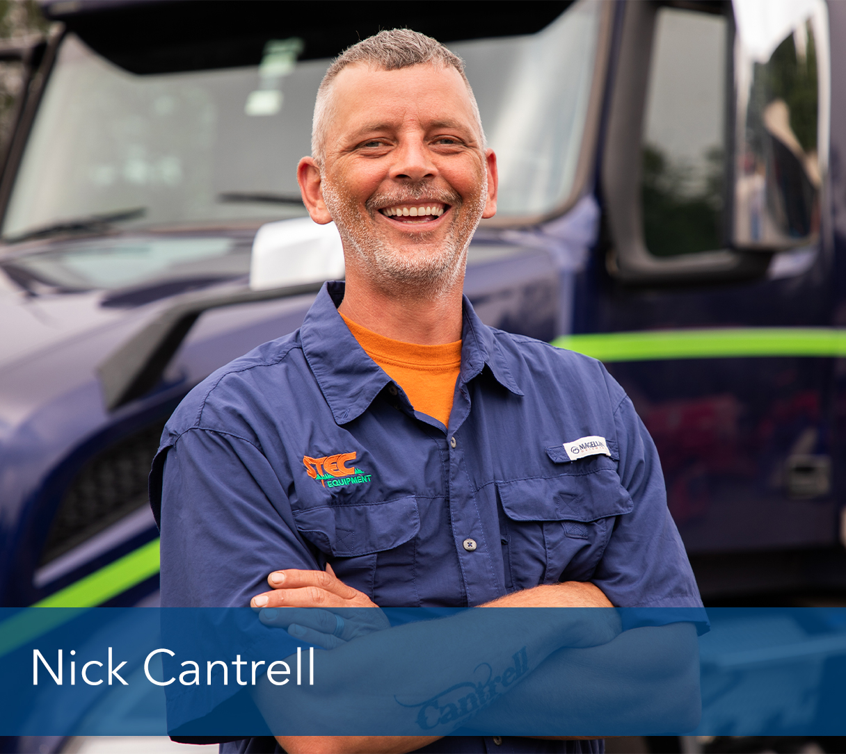 <b>Nick Cantrell</b>, Shop - Driver and Delivery <br><p></p>